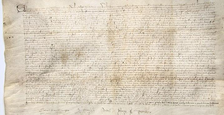 charte de fondation Solesmes