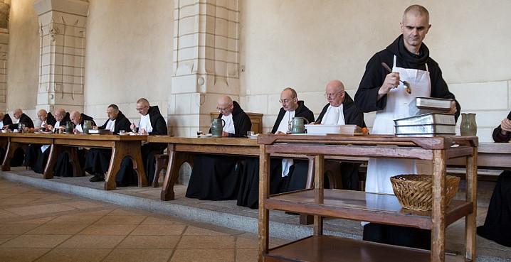 réfectoire monastique Solesmes