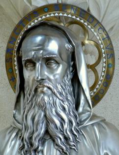 reliquaire de saint Benoît Solesmes